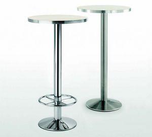 4154R, Metall Tischgestell mit Fußstütze