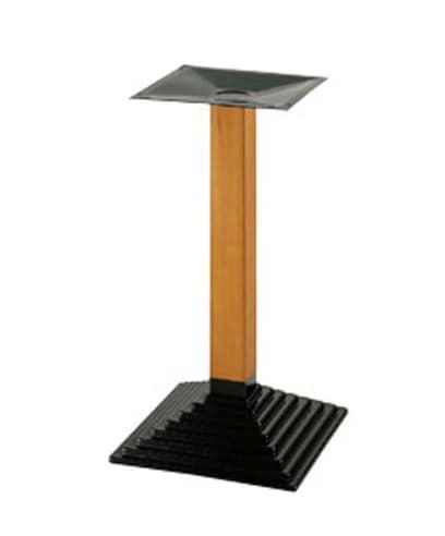905, Metall quadratische Basis für Tisch, für Wein-Bar und Hotel