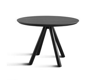 ART. 0098-4 AKY CONTRACT, Basis für Bar Design Tisch, Holz, mit 4 Beinen