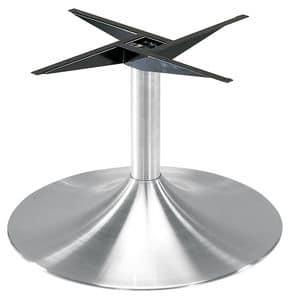 Art.230/4, Gerundet Tischgestell für grösse Tischplatten