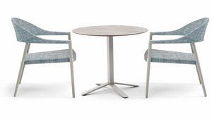 Blade low, Tischgestell für Garten, Höhe 66cm