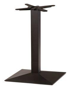 FT 714, Tischgestell aus schwarzem Gusseisen