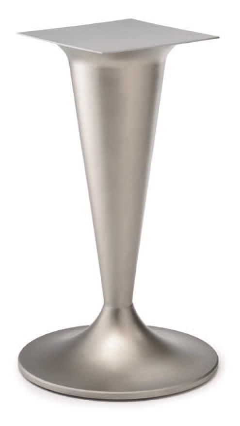FT CONO 1, Tischfuß, Gusseisen, Säule in Form von Kegel