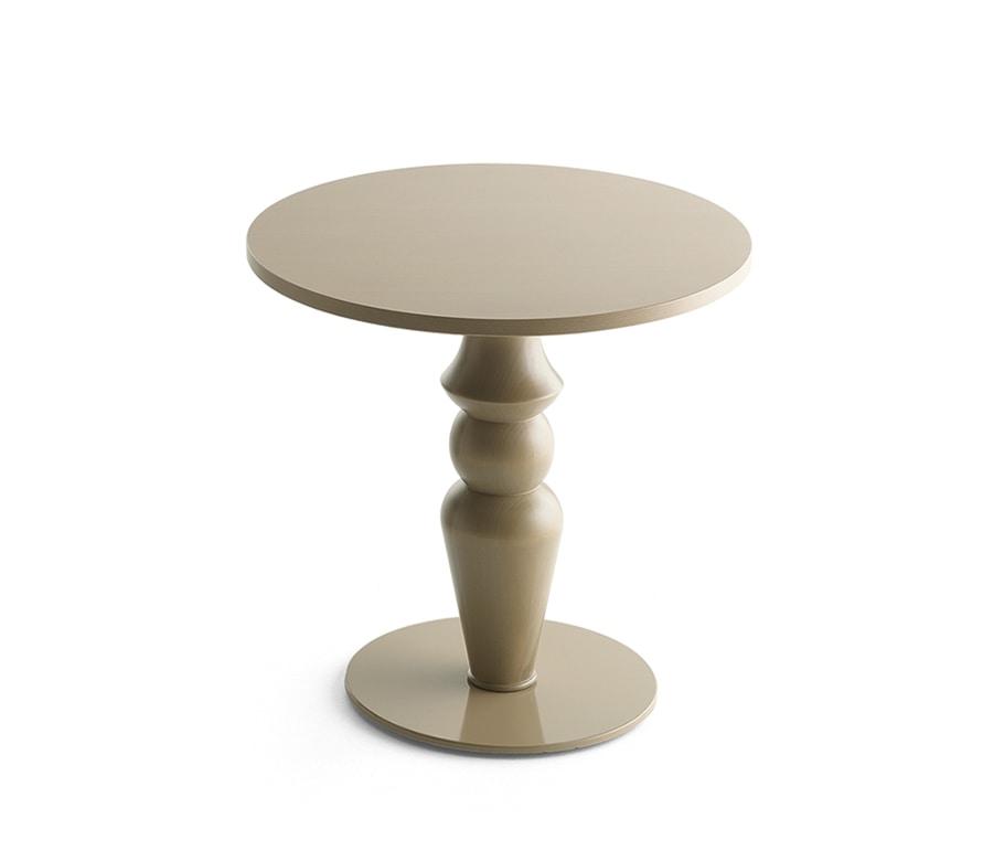 Michelle 8001, Untergestell für Tisch aus gedrechseltem Massivholz