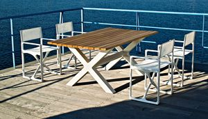 Banquete, Tische für den Innen- und Außenbereich