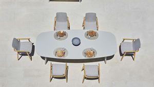 Ellisse Tabelle, Esstisch im Freien