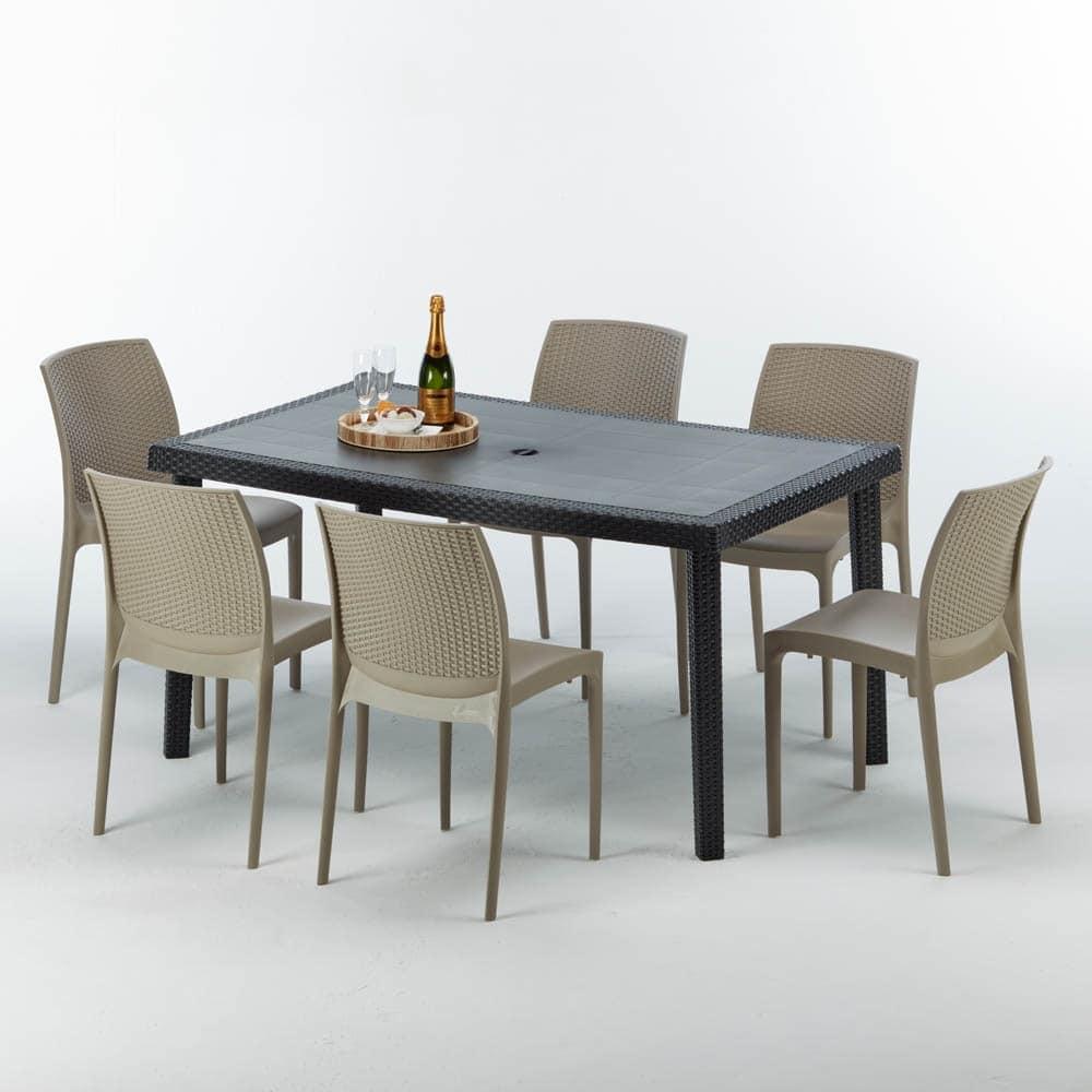 Tisch im Freien, qualitativ hochwertige, modulare | IDFdesign