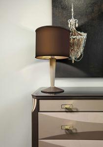 ART. 3360, Tischleuchte mit zylindrischem Lampenschirm