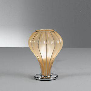 Auriga Rt403-020, Tischlampe in Braunglas