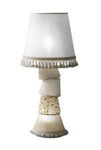 Margò M5638B, Abat-jour mit Struktur mit Lampenschirmen verschiedener Größen und Fantasien bedeckt