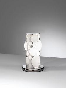 Orione Rt386-020, Moderne Tischlampe in Form von Blasen