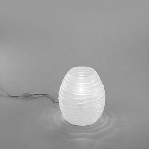 Sydney Lt607-025, Tischlampe in Bernstein oder weißem Glas