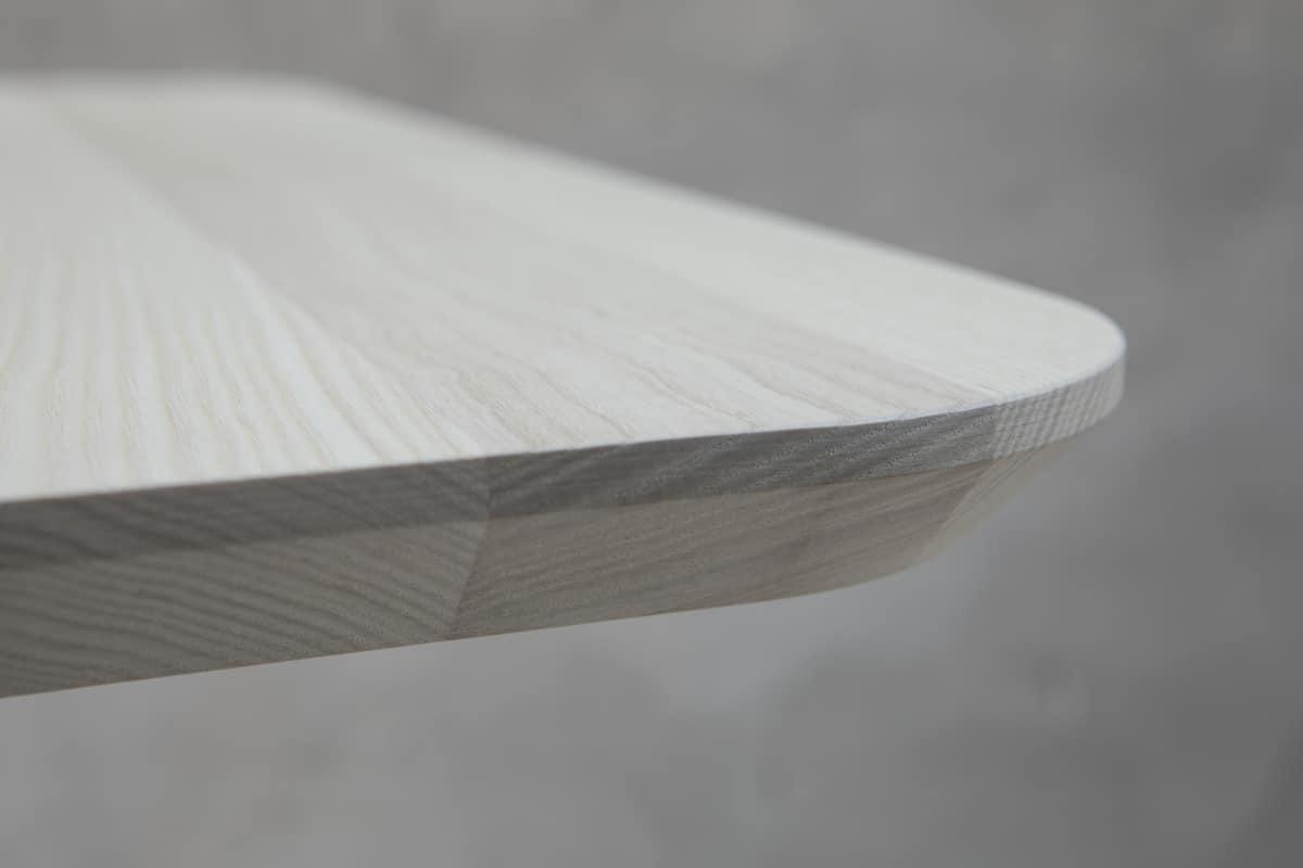 Design tischplatte mit abgeschr gter kante idfdesign for Tischplatte design