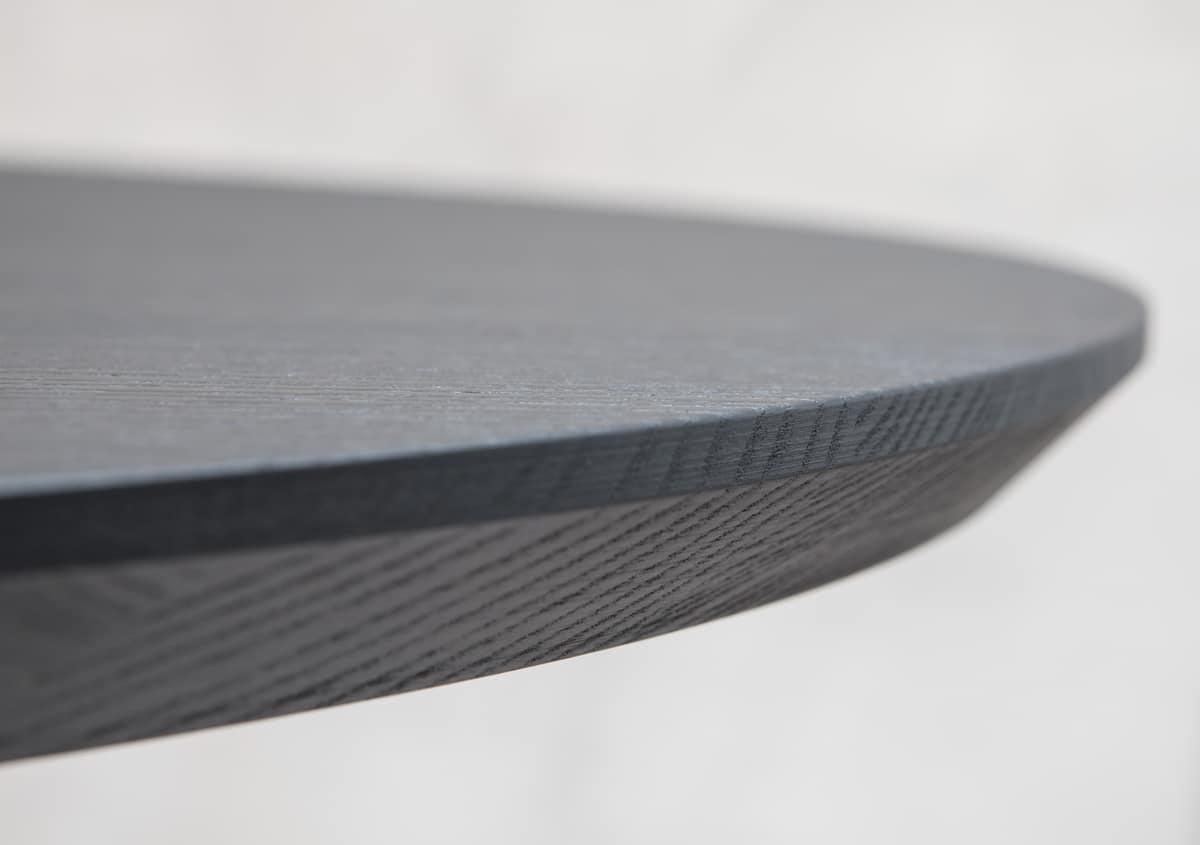 Runder oberseite f r design couchtisch mit abgeschr gter for Runder couchtisch design