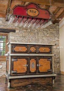 Art. 606, Decken Schrank zu hängen Gläser und Becher, für Bars und Pubs