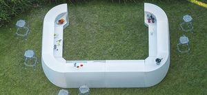 Igloo, Modularer Bartresen im Freien