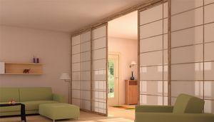 Shoji, Schiebetüren und Wände im japanischen Stil