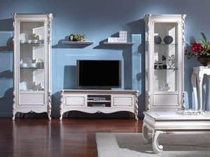 3505 TV STAND, Klassische TV-Ständer für Hotelzimmer