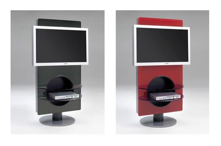 Jazz, Revolving TV-Ständer mit Regalen