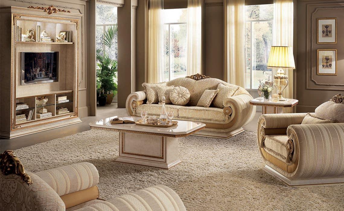 tv schrank f r klassische wohnzimmer im klassischen stil. Black Bedroom Furniture Sets. Home Design Ideas