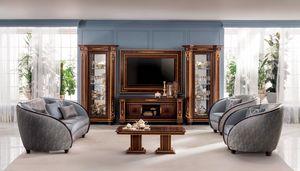 Modigliani Fernseher Zusammensetzung, TV-Schrank im klassischen Stil
