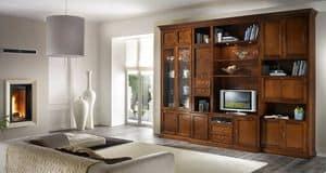 R 06, TV-Schrank mit Schubladen, Vitrinen und Schränken