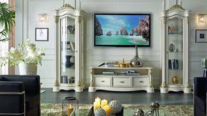 Roma Fernsehschrank, TV-Ständer im zeitgenössischen klassischen Stil