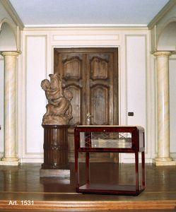 Ruhlmann Art Déco Art. 1531, TV-Ständer mit Rädern im klassischen Stil