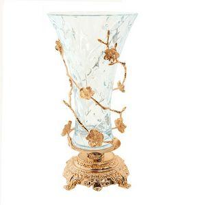 3007, Vase im klassischen Stil mit Blumendekorationen