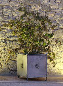 MONASTERO GF4019VA, Gartenvase aus verziertem Eisen
