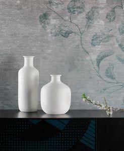 STRIPE, Dekorative Vasen mit gestreiften Texturen