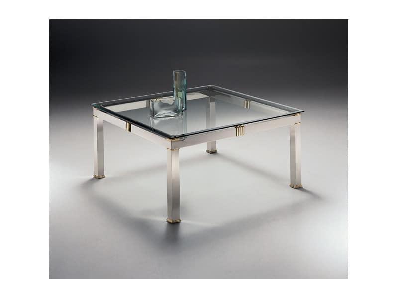 quadratischer couchtisch f r wohnzimmer und wartebereiche. Black Bedroom Furniture Sets. Home Design Ideas