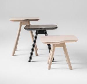 ART. 00101 AKY, Beistelltisch für Wohnzimmer, Esche kleinen Tisch