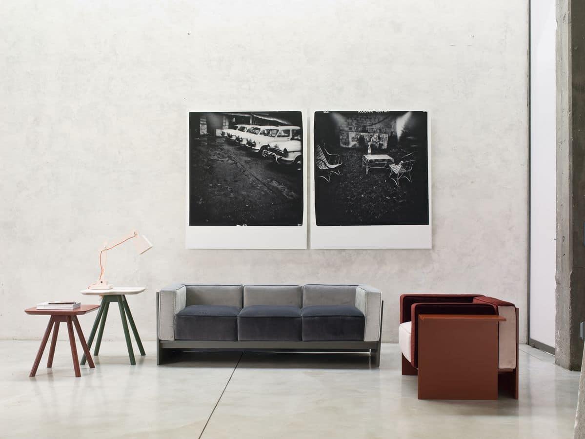 beistelltisch f r wohnzimmer esche kleinen tisch idfdesign. Black Bedroom Furniture Sets. Home Design Ideas