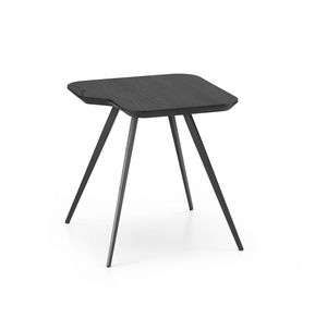 ART. 00102-MET AKY, Couchtisch mit quadratischer Platte