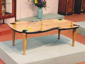 Art. 232, Kleiner Tisch für das Wohnzimmer aus polychromem Holz