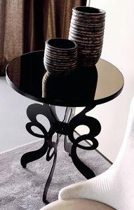 Celine Art. 306, Runder Tisch mit lasergeschnittenem Eisenfuß