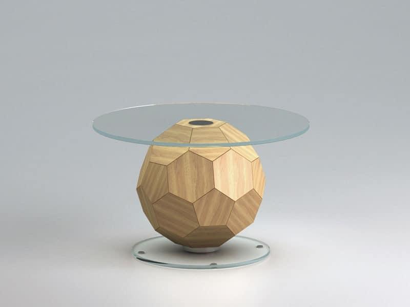 Couchtisch Raum, tonnenförmigen Fußball  IDFdesign