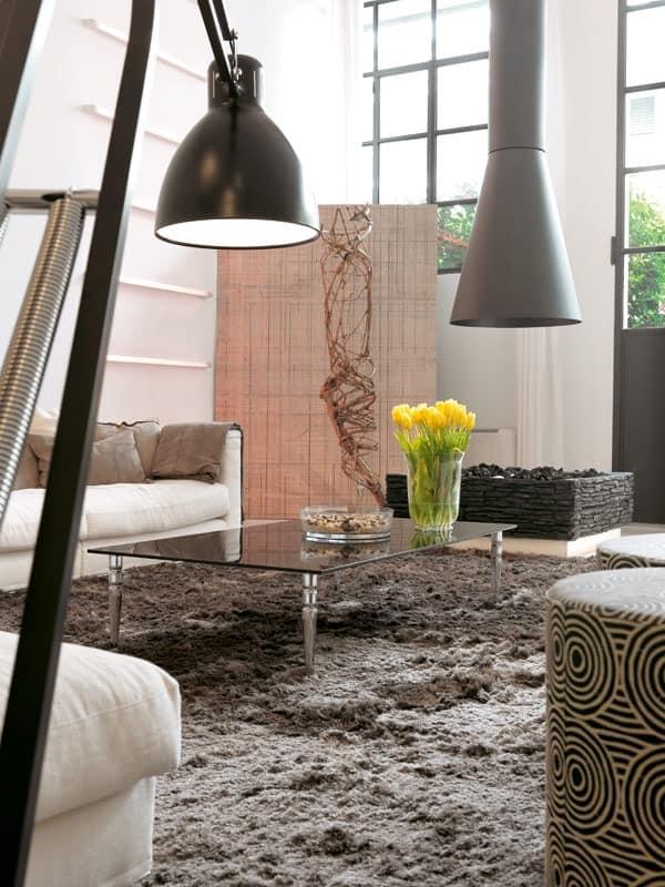tische kleine tische modern design metall und glas quadratisch idfdesign. Black Bedroom Furniture Sets. Home Design Ideas