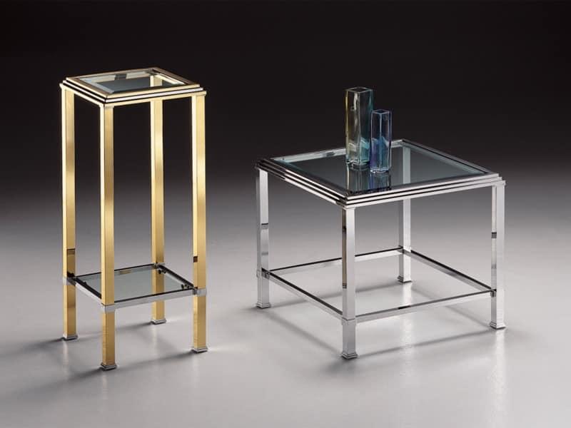 Messing ovaler tisch f r wohnzimmer couchtisch mit for Beistelltisch messing glasplatte