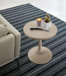 ERA TL147, Kleiner Tisch mit runder Platte und Basis