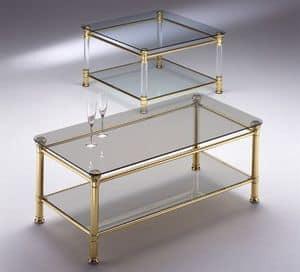 IONICA 670, Platz Tisch mit 2 Glasplatten, für den Empfang