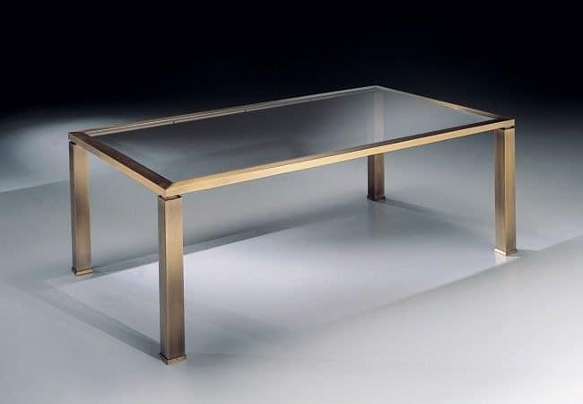 couchtisch aus glas und metall, für die fein wohnzimmer | idfdesign - Kleine Tische Fur Wohnzimmer