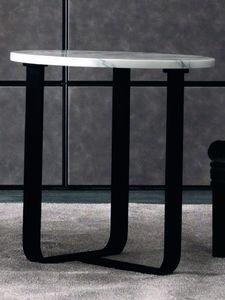 Tiago Art. 118-M, Moderner Beistelltisch mit runder Platte