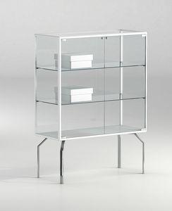 ALLdesign plus 91/12P, Ausstellungsvitrine für Geschäft oder Museum