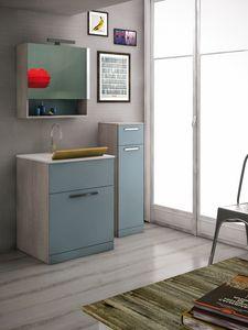 LAVANDERIA 04, Waschküche mit Waschbecken