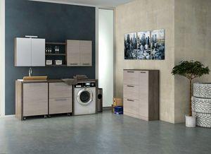 LAVANDERIA 06, Waschküche mit Waschbecken