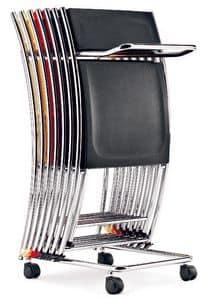 Trolley für stühle