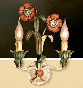 A.1635/2, Wandlampe aus Schmiedeeisen