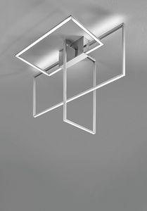 Area, Deckenleuchte mit geometrischem Design